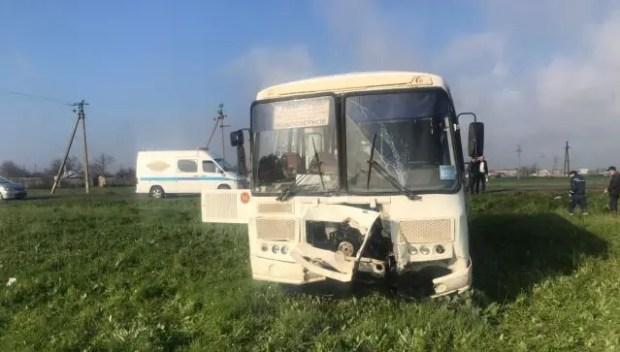 Прокуратура проверяет обстоятельства ДТП с рейсоым автобусом на дороге «Евпатория – Черноморское»