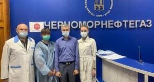 Как проходит выездная вакцинация в трудовых коллективах Симферополя