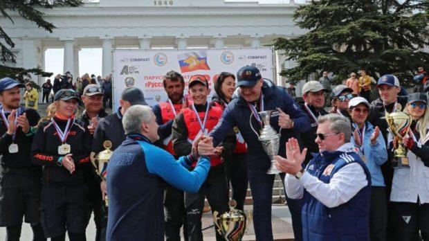 Состоялся заключительный этап VII парусной регаты «Русская весна - 2021»