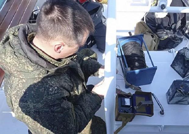 Боевые пловцы Черноморского флота обезвредили подводную мину времён Второй мировой