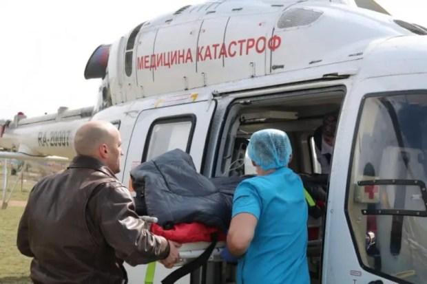 В Севастополе теперь есть санитарная авиация. Первый борт отправился в Краснодар