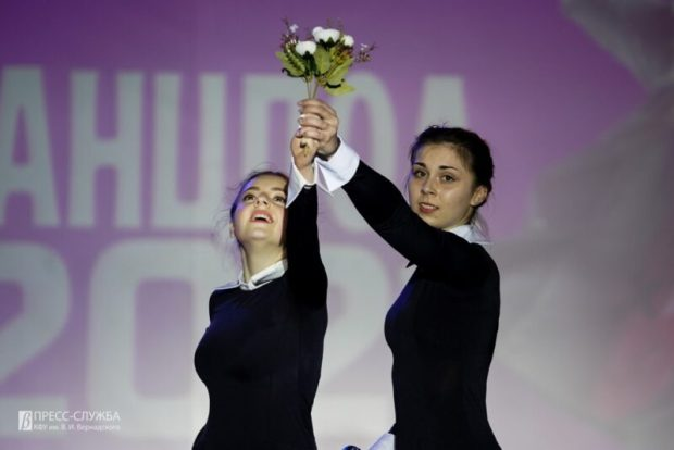 В КФУ назвали победителей самого массового танцевального конкурса