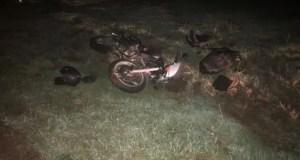 ДТП в Черноморском районе: мотоциклист не справился с управлением