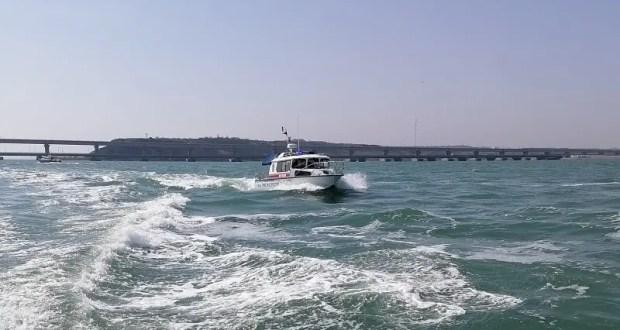 В акватории Керченского пролива прошла межведомственная учебно-практическая тренировка