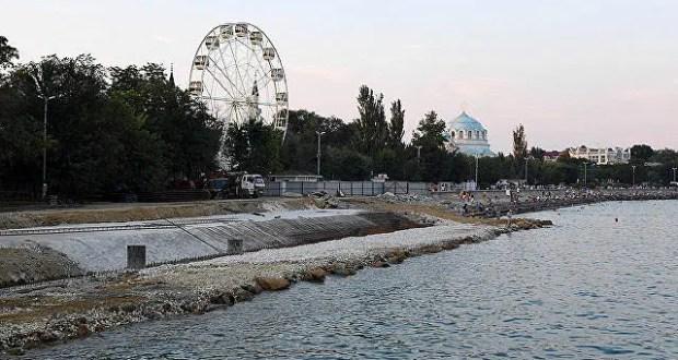Реконструкция набережной имени Терешковой в Евпатории внезапно подорожала