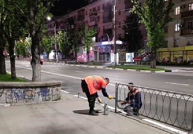 Симферопольские коммунальщики работают без выходных
