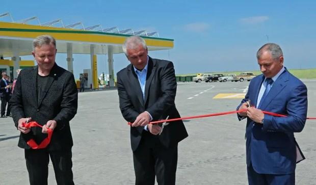 На трассе «Таврида» открыли первый автозаправочный комплекс