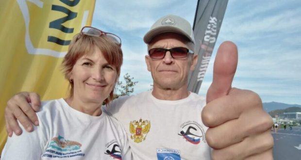 Крымские спортсмены показали себя на Международной серии заплывов в Геленджике