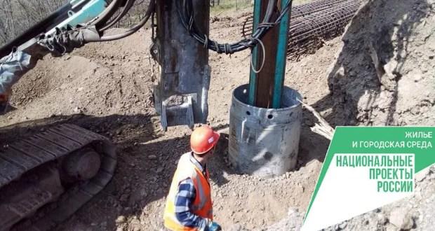 Как идут работы по созданию подпорных сооружений подъездной дороги к ЖК «Семейный» в Алуште