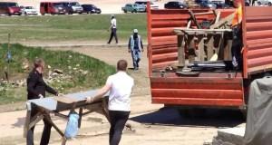На плато Ай-Петри убрали почти два десятка «точек» несанкционированной торговли