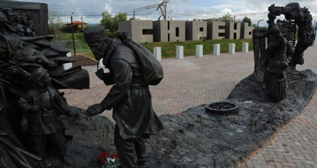 У Мемориального комплекса на станции «Сирень» в Бахчисарайском районе прошел митинг-реквием