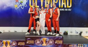 Команда КФУ по чир-спорту - чемпион всероссийских соревнований