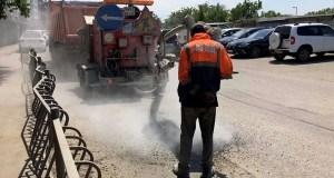Ямочный ремонт в Симферополе – где на этой неделе трудятся дорожники