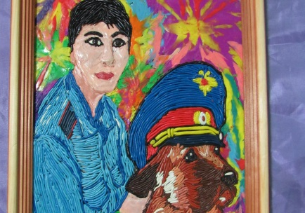 Поддержим юную крымчанку, принимающую участие во Всероссийском конкурсе «Полицейский Дядя Степа»