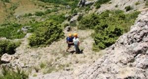 На скалах Таракташ заблудились туристы