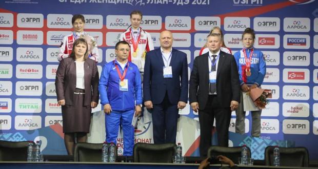 Вероника Гурская из Симферополя - чемпионка России по женской борьбе
