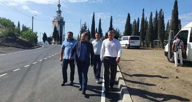 В Малореченском завершен капремонт автодороги «Алушта – Судак – Феодосия»