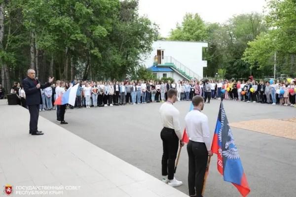В оздоровительном лагере «Дельфин» приняли детей из Донбасса