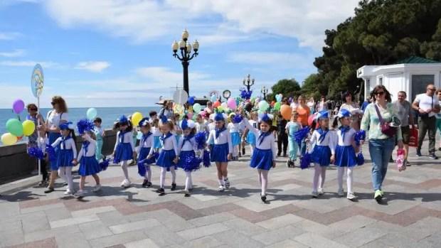 В Ялте состоялся «Парад дошколят»