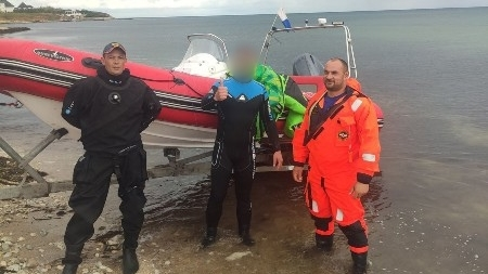 «КРЫМ-СПАС» помог кайтсерферу на Западном побережье Крыма