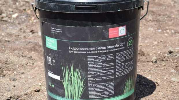 В Ялте впервые применяют гидропосев газонов