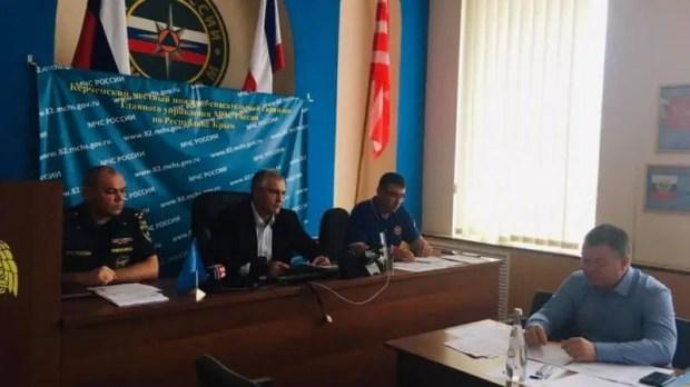 Последняя информация о ликвидации последствий подтоплений на востоке Крыма
