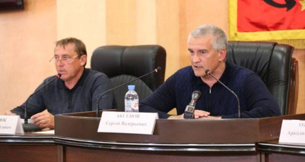 Сергей Аксёнов – о последних решения оперативного штаба по ликвидации последствий ЧС в Крыму