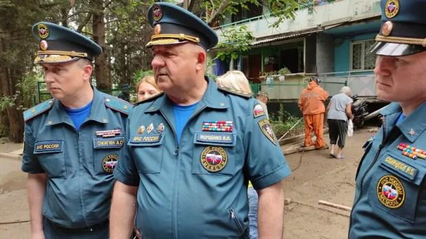 В Ялту для оказания помощи прибывают дополнительные силы МЧС