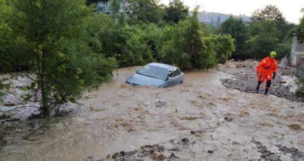 Информация о подтоплении Керчи и Ялты. Утро 23 июня