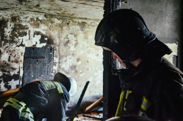 Пожар на Северной стороне Севастополя. Горела квартира