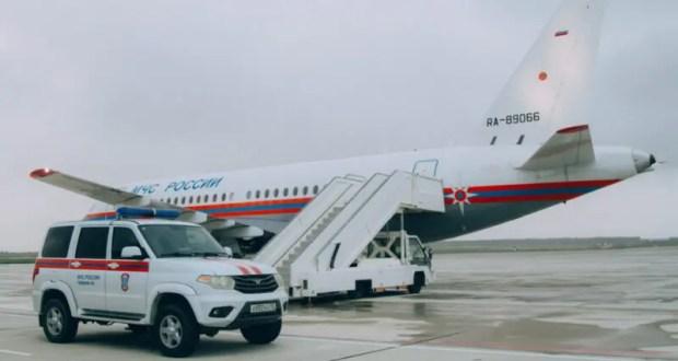 Из Севастополя в Москву спецбортом МЧС России доставлен ребёнок в крайне тяжёлом состоянии
