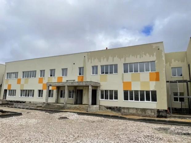 Севастопольский детский сад в микрорайоне Шевченко готов на 75%