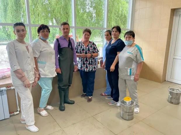 Первую керченскую больницу затопило, но ситуация под контролем
