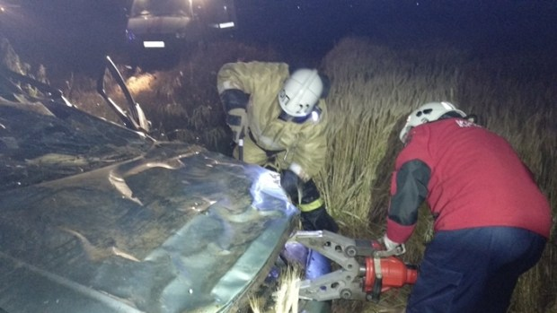 Крымские спасатели трижды оказывали помощь в ликвидации последствий ДТП. Есть погибший