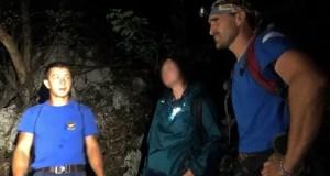 Поздно вечером на горе Бойко заблудились туристы. На помощь пришел «КРЫМ-СПАС»