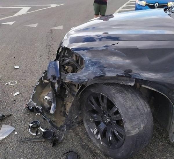 ДТП на трассе «Таврида»: столкнулись «немцы»