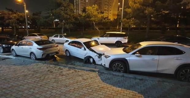 В Севастополе дорожный дебошир разбил три машины. И сбежать пытался, и врал от души