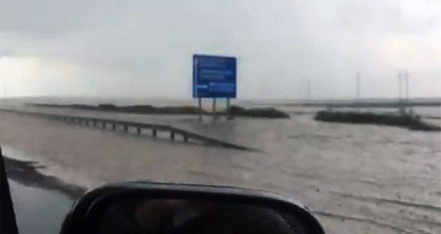 """Трасса """"Таврида"""" ушла под воду"""