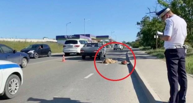 Смертельное ДТП в Симферополе: погибла женщина-пешеход