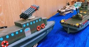В Симферополе открылась выставка моделей кораблей «Верфь на столе»