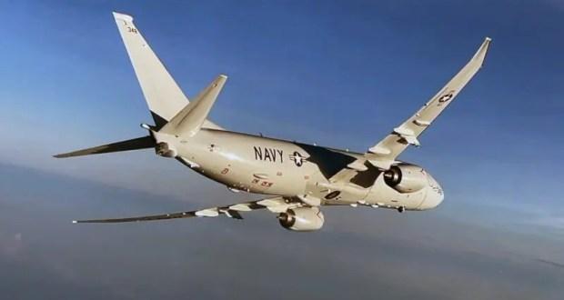 Российские истребители Су-30 сопроводили самолет ВМС США над Черным морем