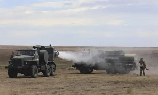 В армейском корпусе Черноморского флота начался лагерный сбор подразделений РХБЗ – «химиков»