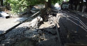 В Ялте составили предварительный список дворов и дорог наиболее пострадавших от стихии