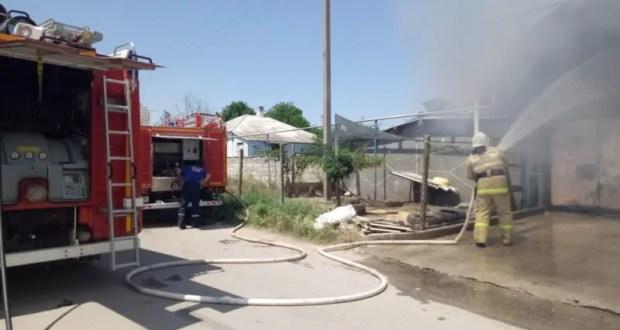 Сотрудники ГКУ РК «Пожарная охрана Республики Крым» ликвидировали 261 пожар