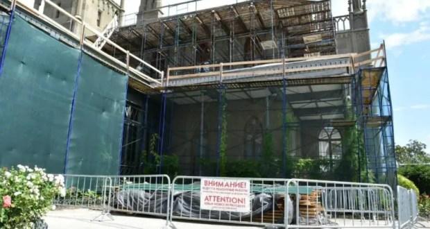 Как проходят реставрационные работы в Воронцовском дворце в Алупке