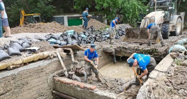 Информационная сводка о подтоплении в Керчи и Ялте. Утро 26 июля