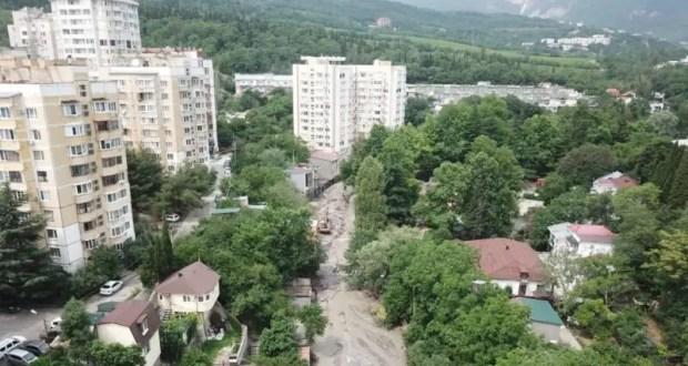 Информационная сводка о подтоплении в Керчи и Ялте. Утро 27 июля