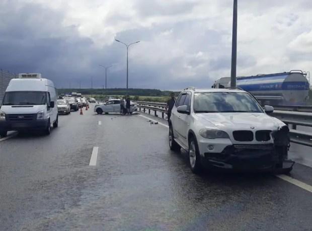 ДТП на трассе «Таврида» - пострадал пассажир «BMW X5»