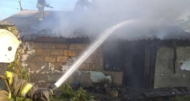 Утренний пожар в Нижнегорском районе и еще 13 пожаров минувших суток в Крыму