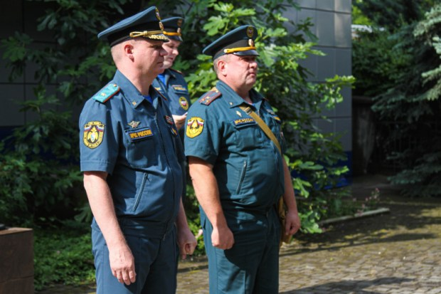 В ГУ МЧС России в Севастополе проверили боеготовность и выправку личного состава